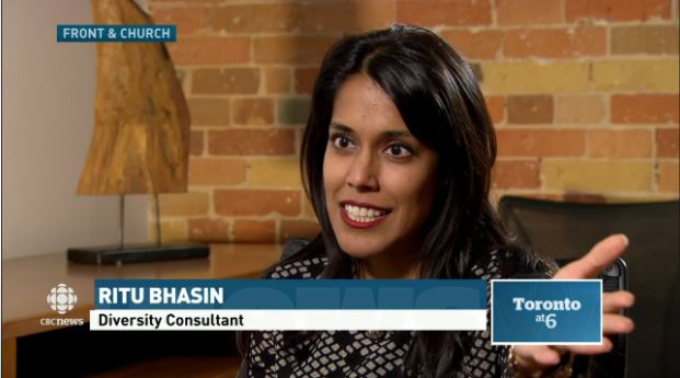 Ritu Bhasin on CBC News at 6