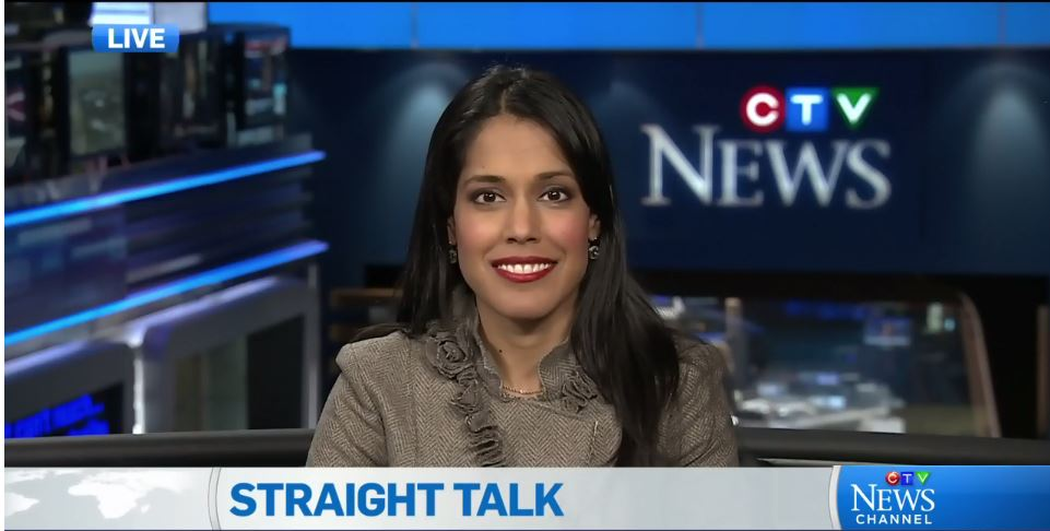 Ritu Bhasin on CTV's Straight Talk with Sandie Rinaldo