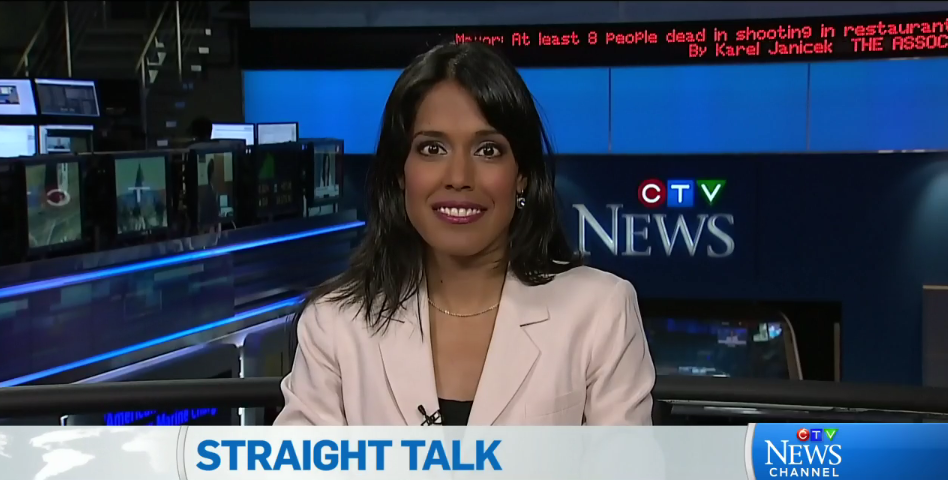 Ritu Bhasin on CTV Straight Talk, February 24, 2015