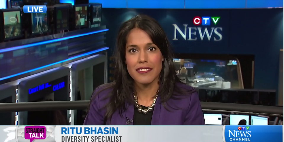 Ritu Bhasin on CTV Straight Talk, March 2 2015