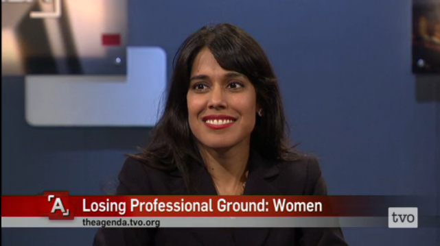 Ritu Bhasin on The Agenda with Steve Paikin, April 2, 2015