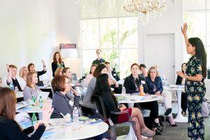 Ritu Bhasin Teaching a Workshop