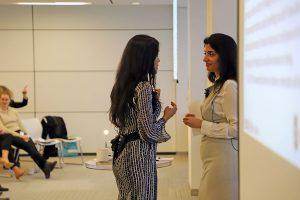 Ritu Bhasin and Komal Bhasin talking