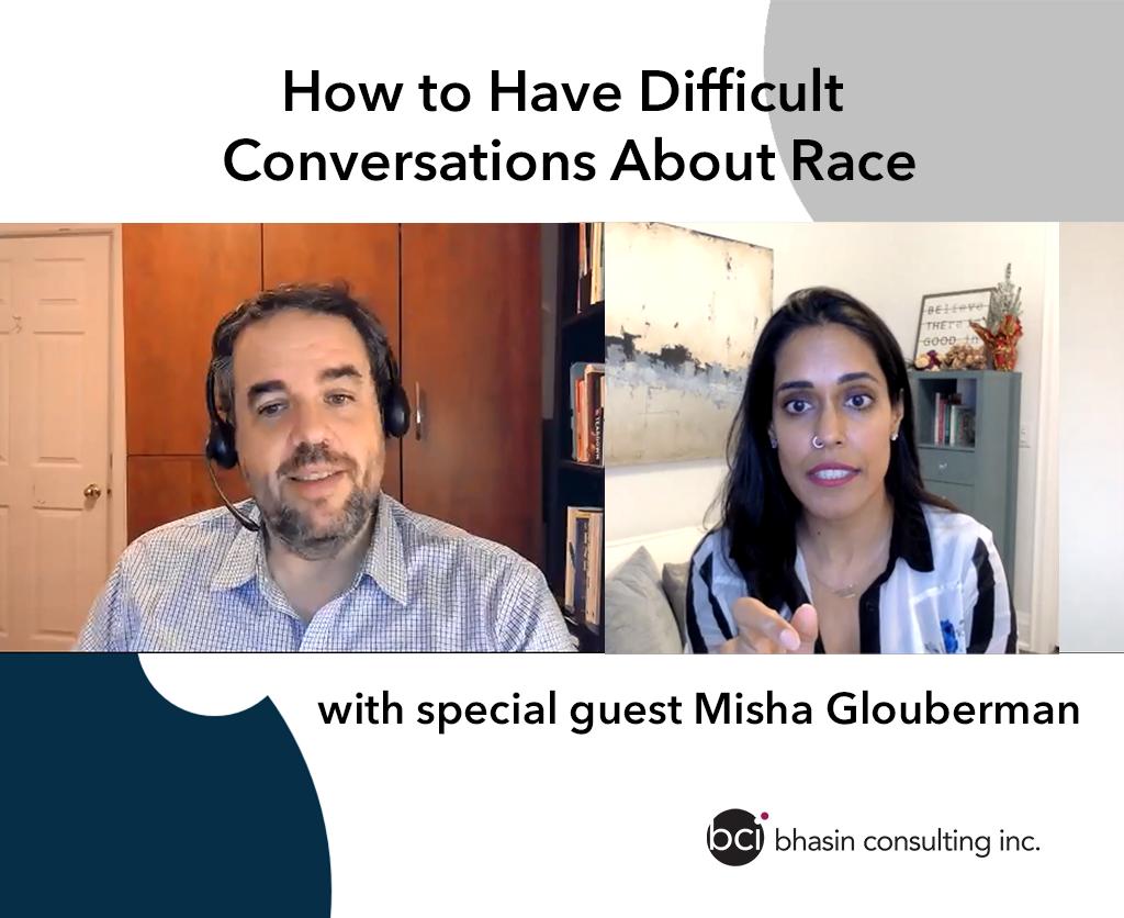 Misha Glouberman and Ritu Bhasin