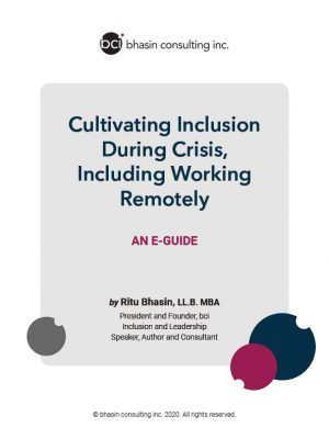 Cultivating Inclusion During Crisis